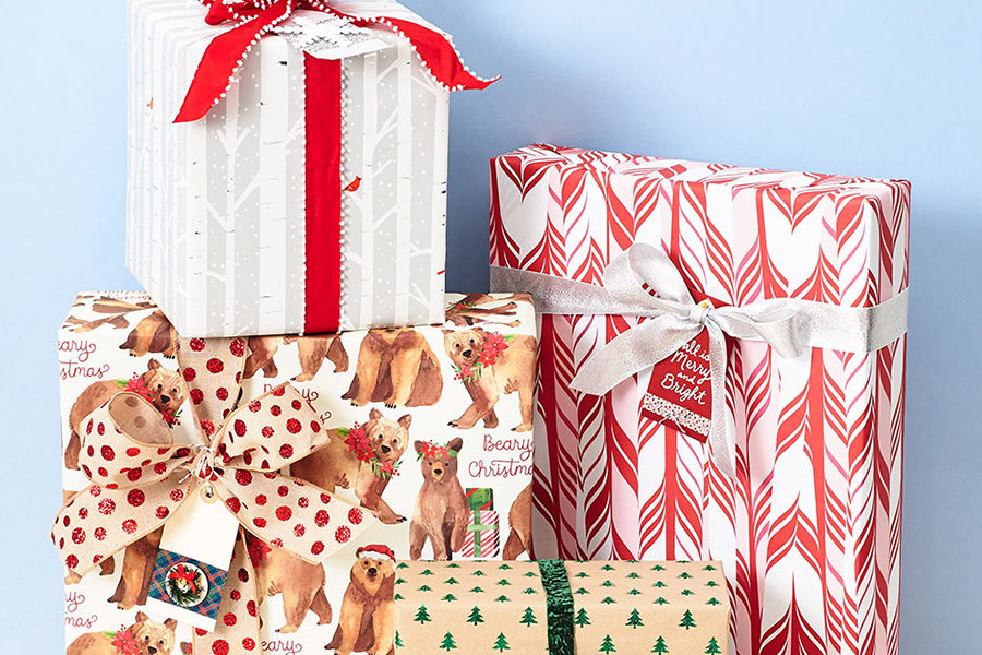 Gift Wrap Workshop with Paper Source