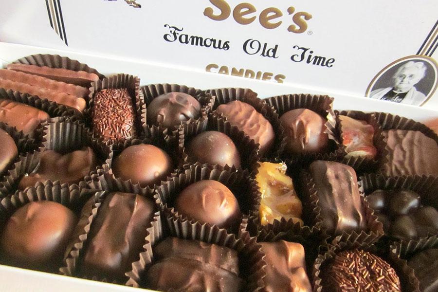 Sweet Samples at See's Candies