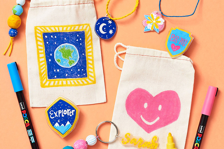 Summer Art Class for Kids at Paper Source