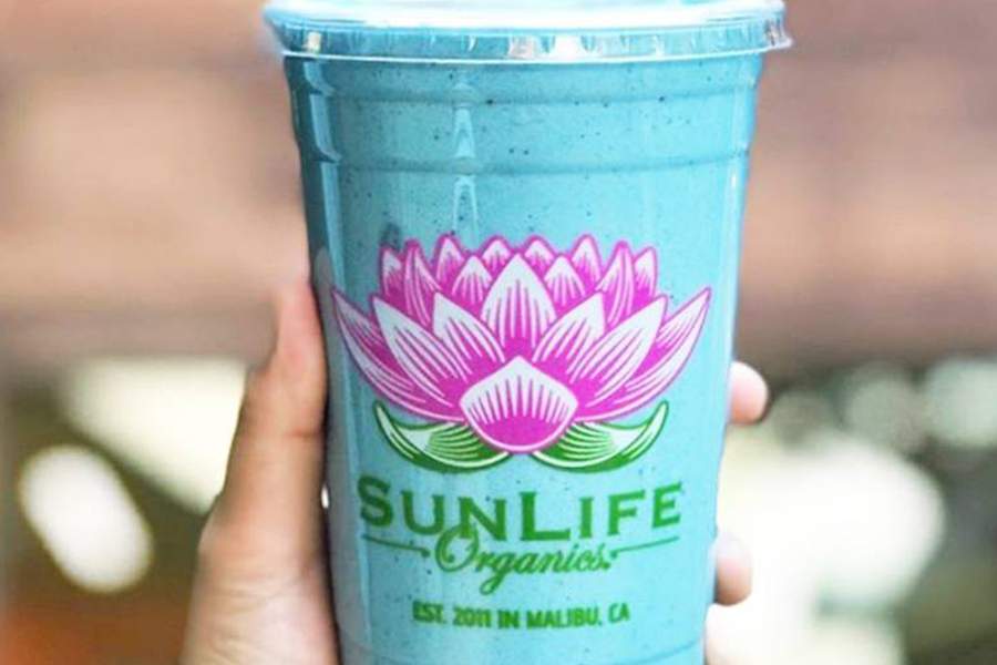 Smoothie of the Month at SunLife Organics