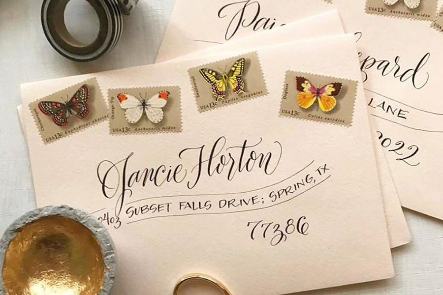 Insta-Worthy Envelopes Workshop at Paper Source