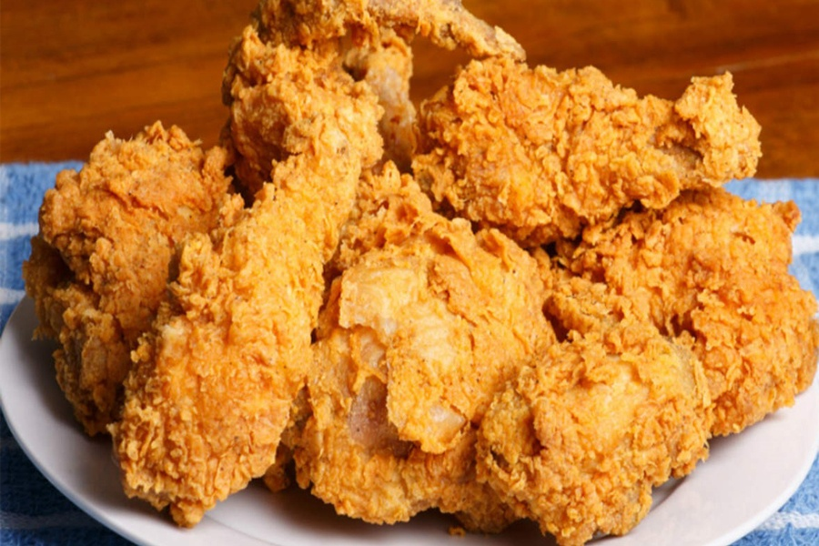 Mary's Fried Chicken Dinner at Porta Via Calabasas