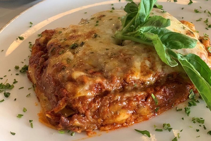Ready-to-Cook Famous Lasagna at Porta Via Calabasas