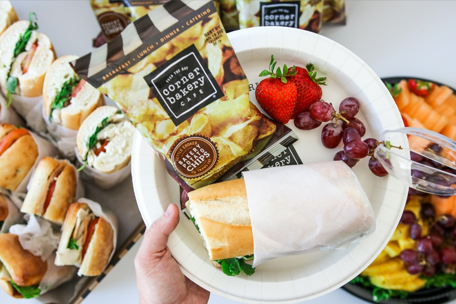 Graduation Catering Offer at Corner Bakery Cafe