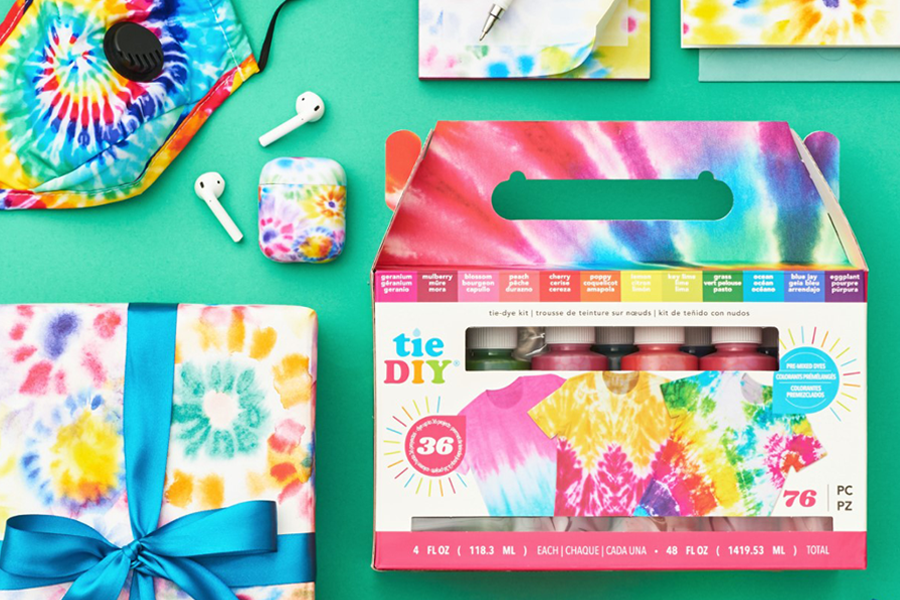 Summer Tie-Dye at Paper Source