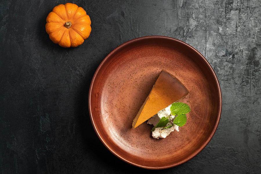 Pumpkin Cheesecake at King's Fish House